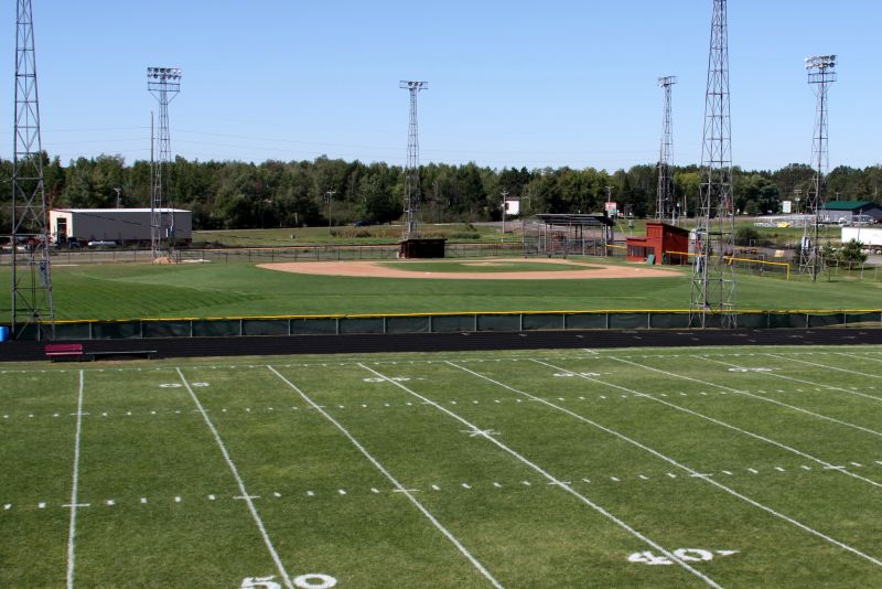 Football & Baseball Fields